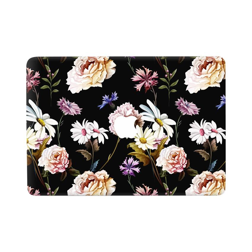 Lunso Flower Bouquet vinyl sticker voor de MacBook Air 13 inch (2010-2017)