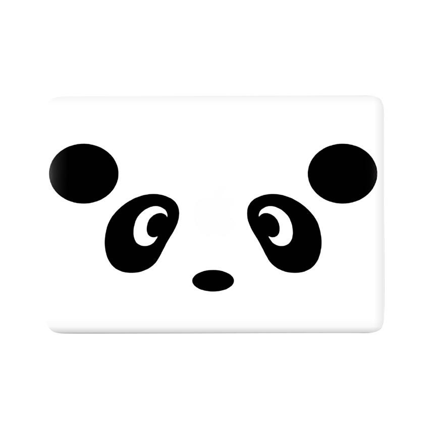 Lunso Panda vinyl sticker voor de MacBook Air 13 inch (2010-2017)