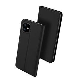 Dux Ducis Dux Ducis - pro serie slim wallet hoes - iPhone 11 - Zwart