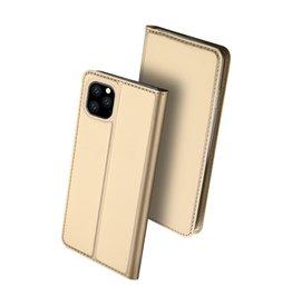 Dux Ducis Dux Ducis - pro serie slim wallet hoes - iPhone 11 Pro Max - Goud
