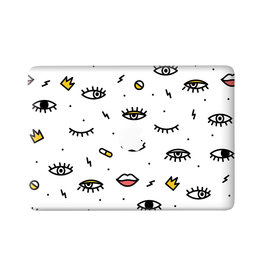 Lunso Lunso - vinyl sticker - MacBook Air 13 inch (2018-2019) - Eyes