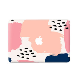 Lunso Lunso - vinyl sticker - MacBook Air 13 inch (2018-2020) - Memphis Pastel