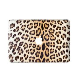 Lunso Lunso - vinyl sticker - MacBook Air 13 inch (2018-2020) - Leopard Brown