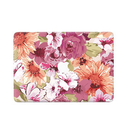 Lunso Lunso - vinyl sticker - MacBook Air 13 inch (2018-2019) - Flower Painting