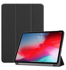 Lunso 3-Vouw sleepcover hoes - iPad Pro 11 inch (2018-2019) - Zwart