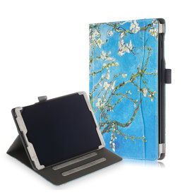 Lunso Luxe stand flip cover hoes - Samsung Galaxy Tab A 10.1 inch (2019) - Van Gogh Amandelboom