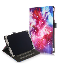 Lunso Luxe stand flip cover hoes - Samsung Galaxy Tab A 10.1 inch (2019) - Galaxy