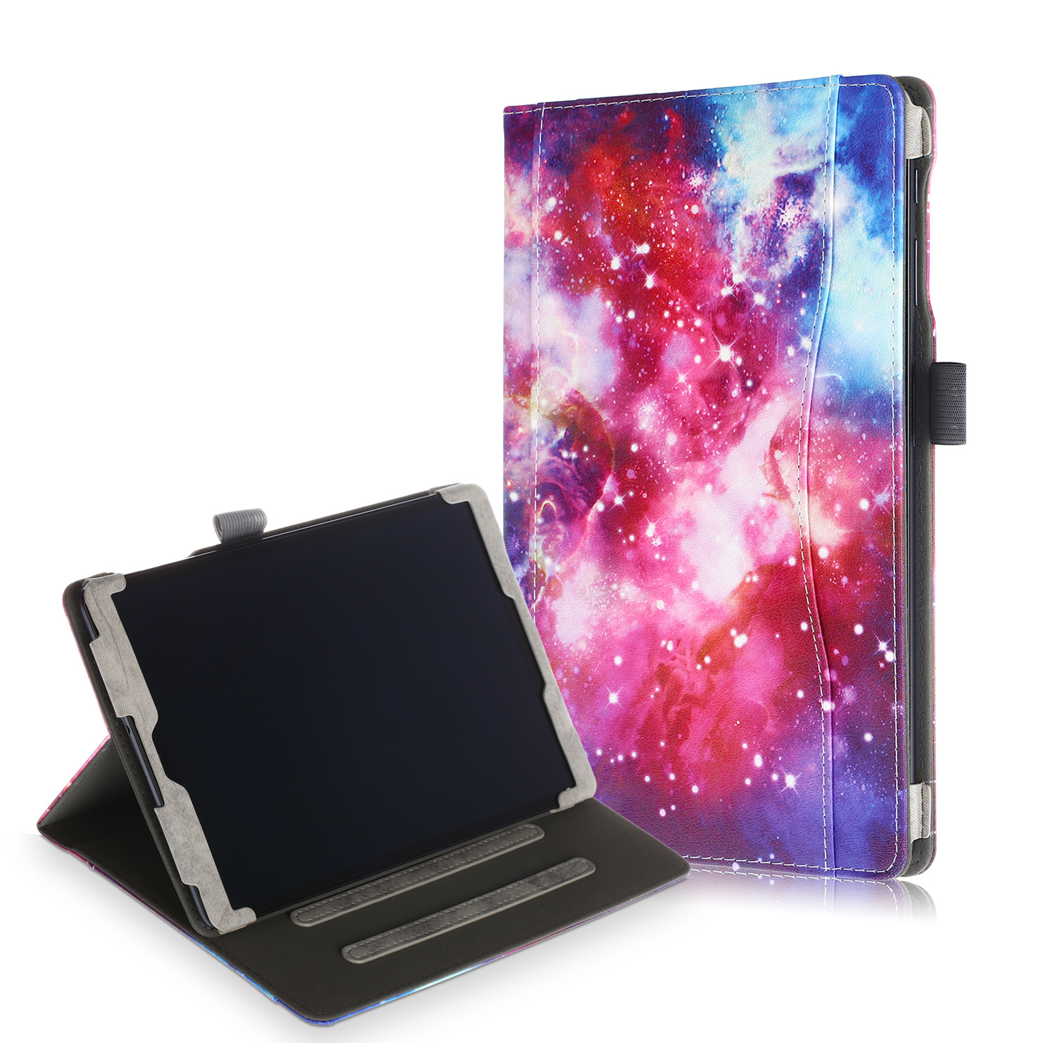 Lunso Luxe stand flip cover hoes Galaxy voor de Samsung Galaxy Tab A 10.1 inch (2019)