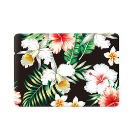 Lunso Lunso - vinyl sticker - MacBook Pro 13 inch (2016-2019) - Flower White