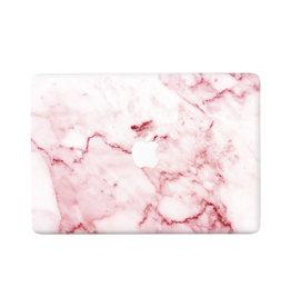 Lunso Marble Daisy vinyl sticker voor de MacBook Pro 13 inch (2016-2020)