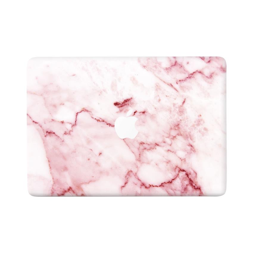 Lunso Marble Daisy vinyl sticker voor de MacBook Pro 13 inch (2016-2019)