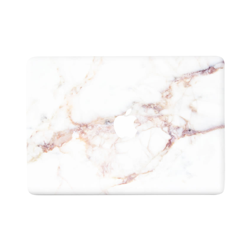 Lunso Marble Mae vinyl sticker voor de MacBook Pro 13 inch (2016-2019)