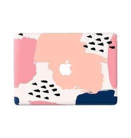 Lunso Memphis Pastel vinyl sticker voor de MacBook Pro 13 inch (2016-2020)
