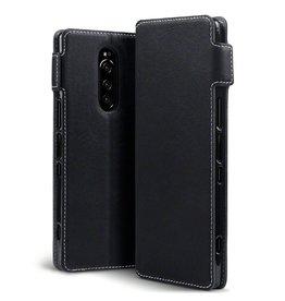 Qubits Qubits - slim wallet hoes - Sony Xperia 5 - Zwart