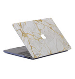 Lunso Marble Stella cover hoes voor de MacBook Pro 13 inch (Non-Retina)