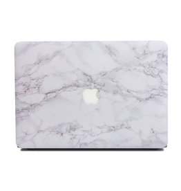 Lunso Lunso - cover hoes - MacBook Pro 13 inch (Non-Retina) - Marble Cosette