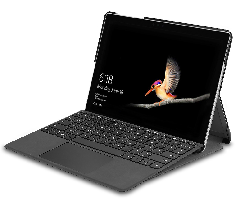 Lunso 3-Vouw sleepcover hoes Fee voor de Microsoft Surface Go