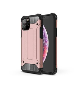 Lunso Lunso - Armor Guard hoes - iPhone 11 Pro  - Rose Goud