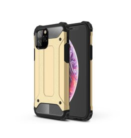 Lunso Lunso - Armor Guard hoes - iPhone 11 Pro - Goud
