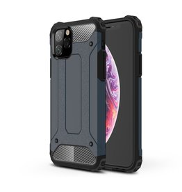 Lunso Lunso - Armor Guard hoes - iPhone 11 Pro - Donkerblauw