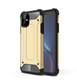 Lunso Lunso - Armor Guard hoes - iPhone 11 - Goud