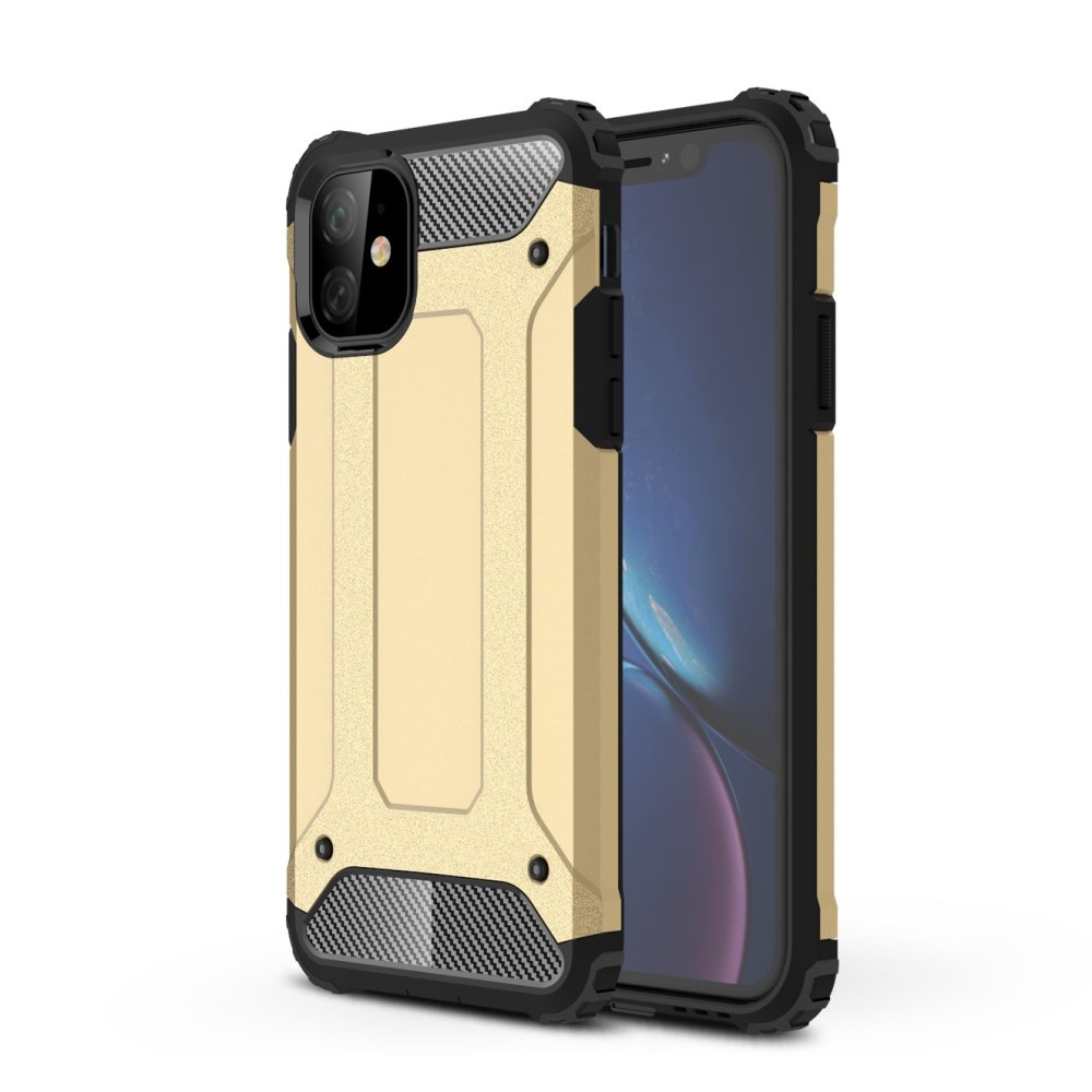 Lunso Armor Guard hoes Goud voor de iPhone 11