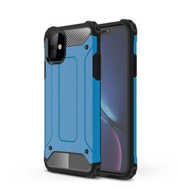 Lunso Lunso - Armor Guard hoes - iPhone 11 - Lichtblauw