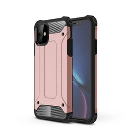 Lunso Lunso - Armor Guard hoes - iPhone 11 - Rose Goud