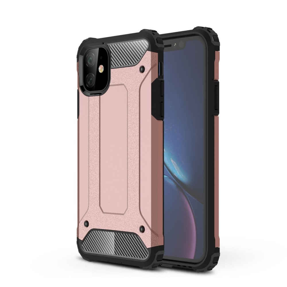 Lunso Armor Guard hoes Rose Goud voor de iPhone 11