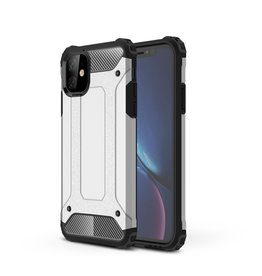Lunso Lunso - Armor Guard hoes - iPhone 11 - Zilver