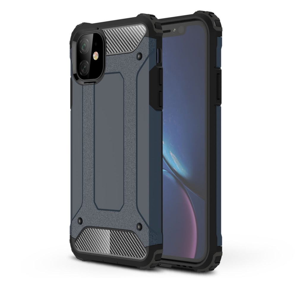 Lunso Armor Guard hoes Donkerblauw voor de iPhone 11