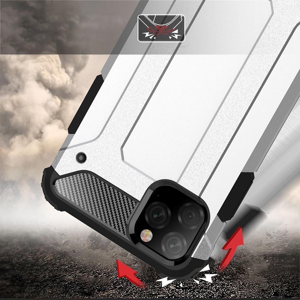 Lunso Armor Guard hoes Zwart voor de iPhone 11 Pro Max