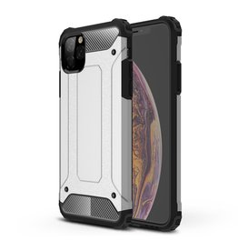 Lunso Lunso - Armor Guard hoes - iPhone 11 Pro Max - Zilver
