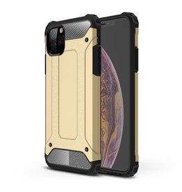 Lunso Lunso - Armor Guard hoes - iPhone 11 Pro Max - Goud