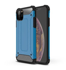 Lunso Lunso - Armor Guard hoes - iPhone 11 Pro Max - Lichtblauw