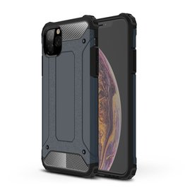 Lunso Lunso - Armor Guard hoes - iPhone 11 Pro Max - Donkerblauw