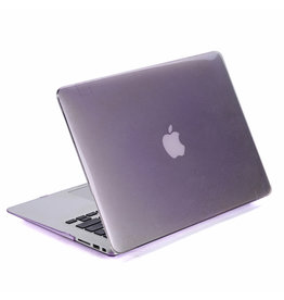 Lunso Lunso - cover hoes - MacBook Pro 13 inch (Non-Retina) - Glanzend Paars