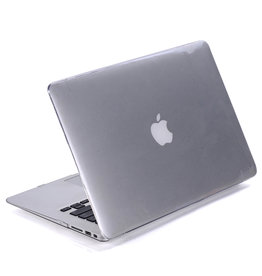 Lunso Lunso - cover hoes - MacBook Air 11 inch - Glanzend Transparant
