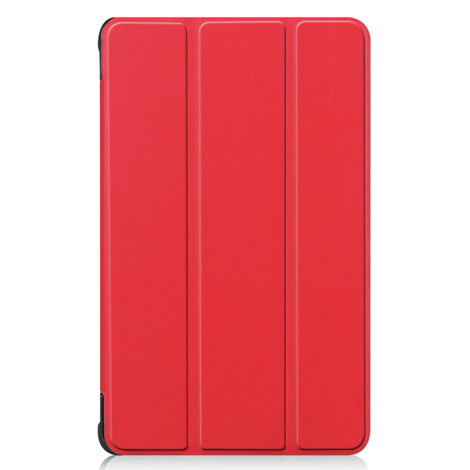 Lunso 3-Vouw sleepcover hoes Rood voor de Samsung Galaxy Tab A 8.0 inch 2019