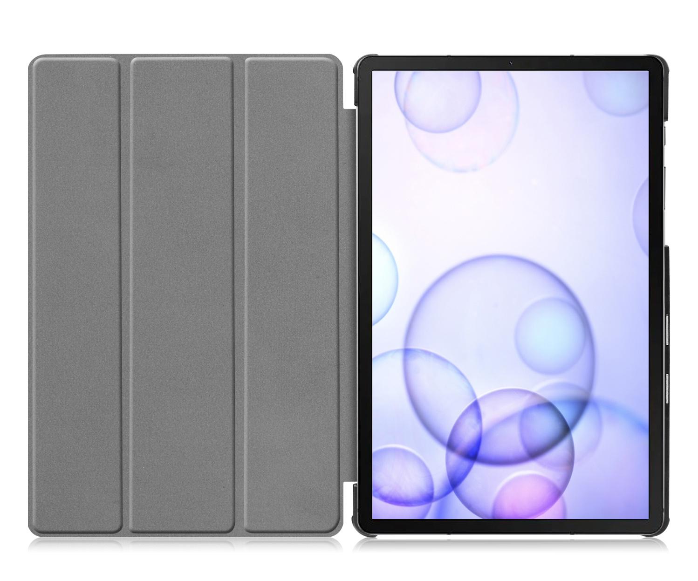 Lunso 3-Vouw sleepcover hoes Blauw voor de Samsung Galaxy Tab S6