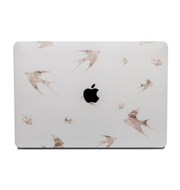 Lunso Lunso - cover hoes - MacBook Air 13 inch (2018-2019) - Swallow