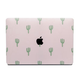 Lunso Lunso - cover hoes - MacBook Air 13 inch (2018-2019) - Cactus