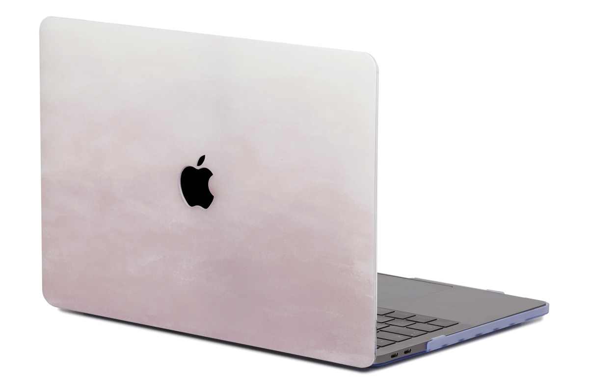 Lunso Dusty Pink cover hoes voor de MacBook Pro 13 inch (2016-2019)