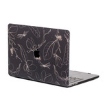 Lunso Dragonfly Black cover hoes voor de MacBook Pro 15 inch (2016-2019)