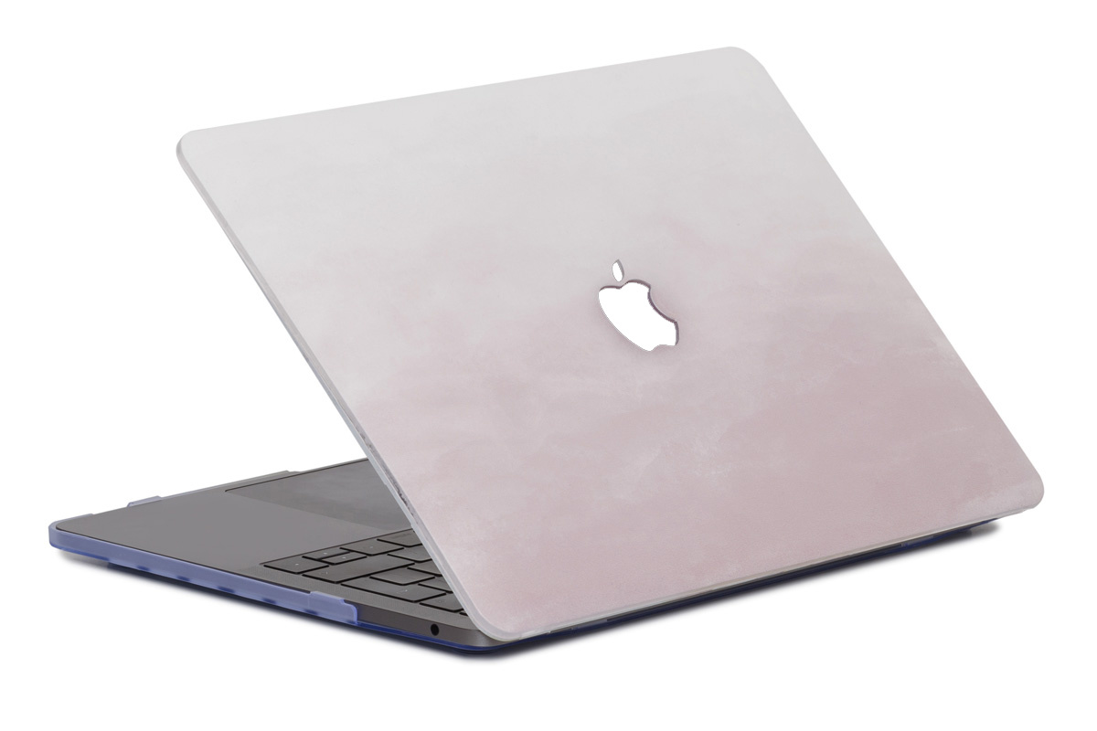 Lunso Dusty Pink cover hoes voor de MacBook Air 13 inch (2010-2017)