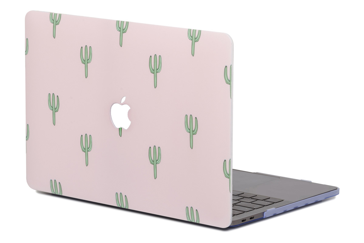 Lunso Cactus cover hoes voor de MacBook Air 13 inch (2010-2017)