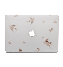 Lunso Lunso - cover hoes - MacBook Air 13 inch (2010-2017) - Swallow