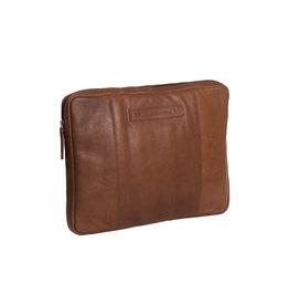 Chesterfield Chesterfield - Glenn lederen laptop sleeve hoes - 15 inch - Cognac