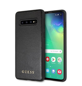 Guess Guess - backcover hoes - Samsung Galaxy S10 - Zwart