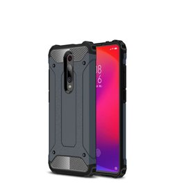 Lunso Lunso - Armor Guard hoes - Xiaomi Mi 9T / 9T Pro - Donkerblauw